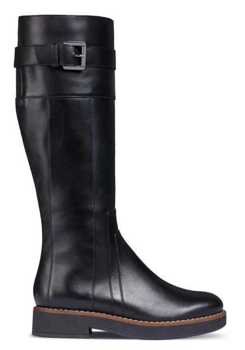 Nowoczesne zimowe buty jeździeckie damskie
