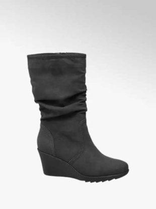 Modne buty na klinowym obcasie