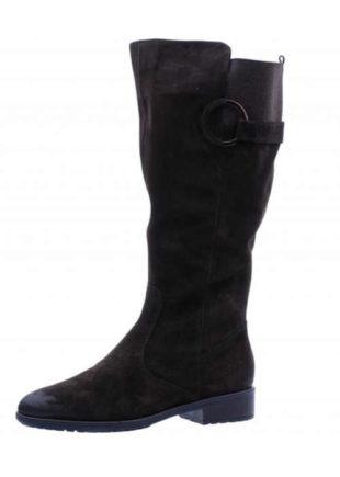 Damskie skórzane wysokie buty na chłodniejsze dni