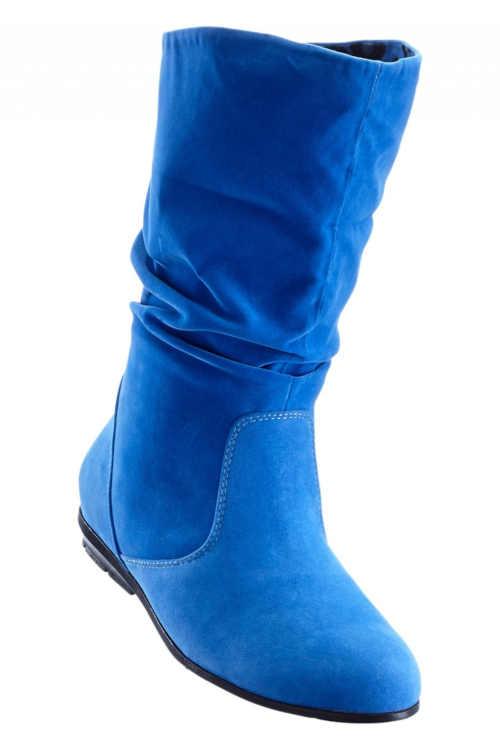 Zamszowe buty slip-on