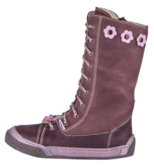 Dziecięce skórzane buty zimowe PEGRES