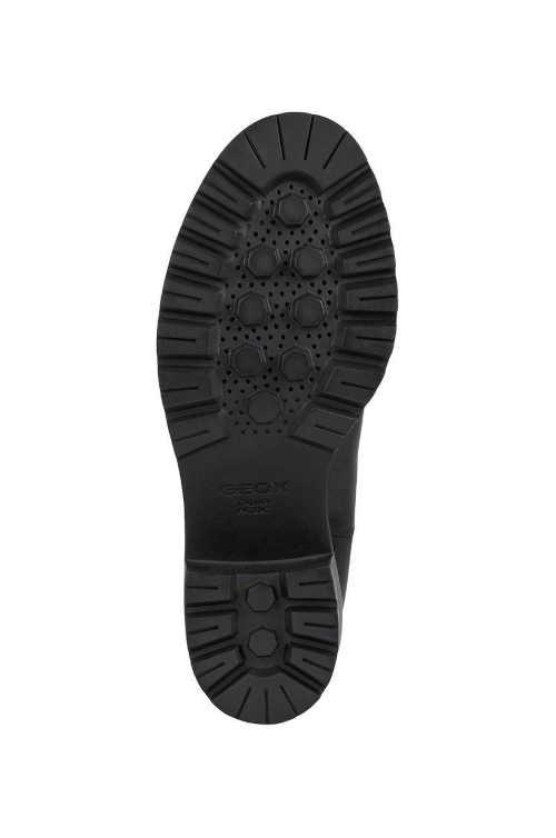 Czarne buty do kostki Geox