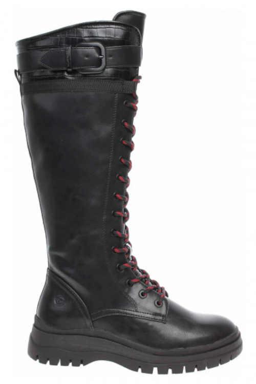Stylowe wysokie buty damskie Tamaris