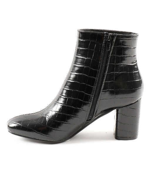 Damskie buty za kostkę z nowoczesnym wzorem