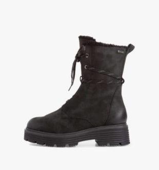 Damskie ocieplane buty za kostkę Tamaris